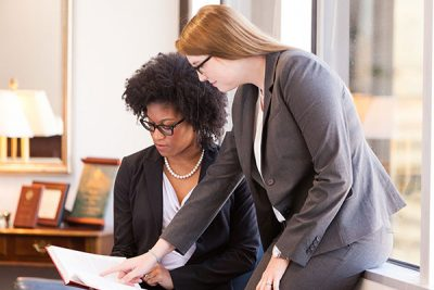 Foundations, Endowments and Associations - Team Members Collaborating - Morgann Ellis, CFP® and Chelsea A. Bailey